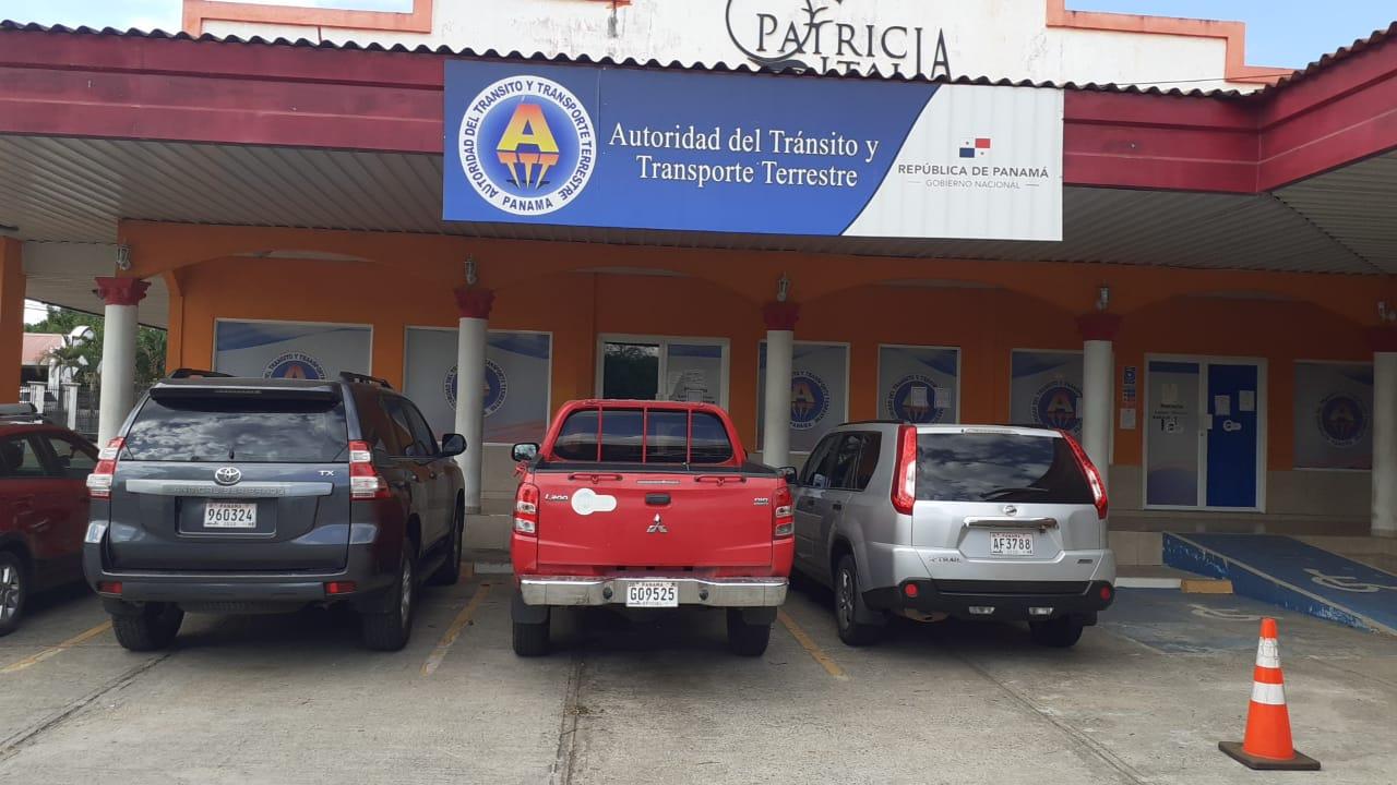 Vía Panamericana detrás de la Policía Nacional.